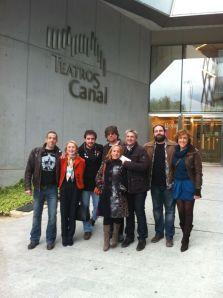Reunión en los Teatros. Foto: Nuria Heras