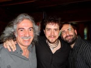 Con Txetxu y José Luis, de Los Madison.