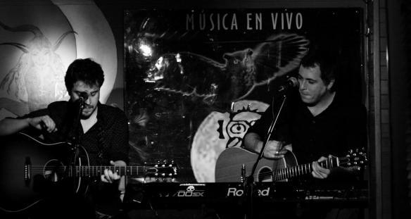César y Txextu. Foto: Mario Fernández