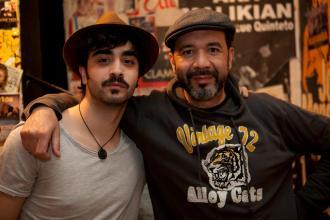 Basilio Martí con Jorge Marazu.