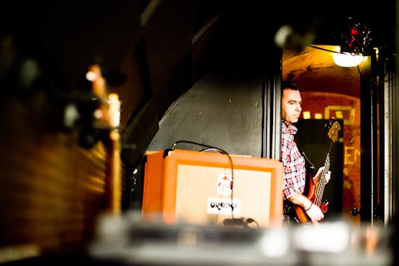 Cristian Costa, bajista de Reno.