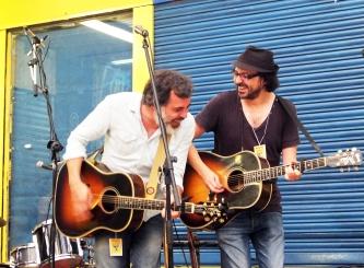 César Pop y Dani Flaco.