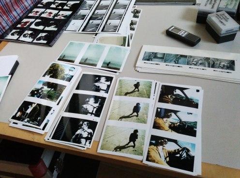 Cientos de fotografías de las sesiones en el Cabo de Gata.