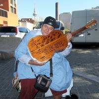 """La guitarra me salvó de la locura"""
